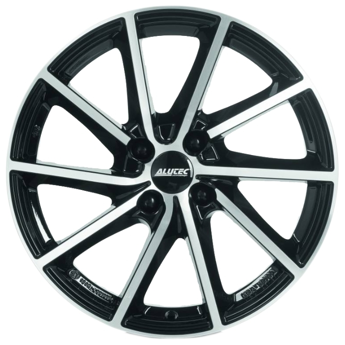 Легковой диск Alutec Singa 6x15 5x112 ET43 57,1 Diamond Black Front Polished